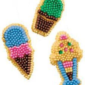 Ice Cream Icing Decorations