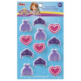 Sofia the First Icing Decorations