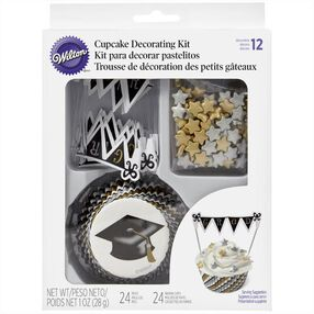 Wilton Graduation Cupcake Decorating Kit, 24-Ct.