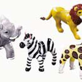 Jungle Animals Topper Set
