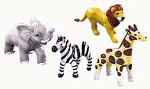 Jungle Animals Topper Set