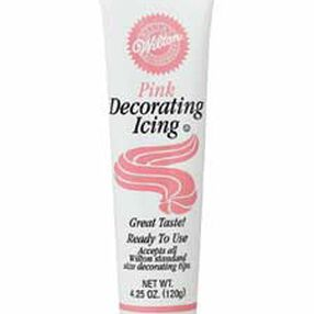 Pink Ready-To-Use Icing Tube