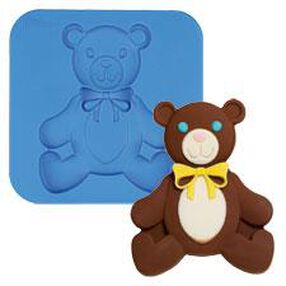 Teddy Bear Silicone Candy and Craft Mold
