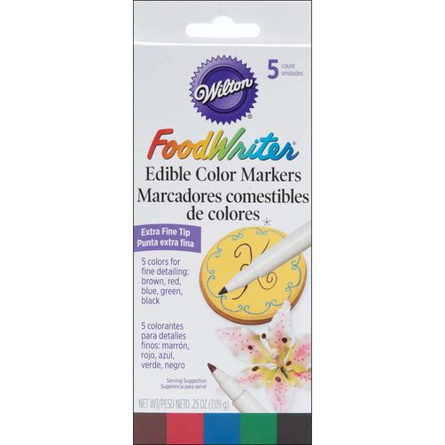 FoodWriters Extra Fine Tip  Edible Markers