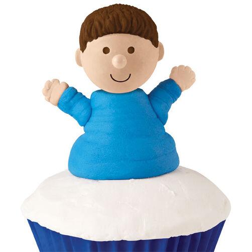 Boy Cupcake Topper