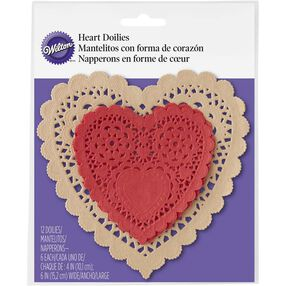 Wilton Doily Cupcake Liners, 12-Count