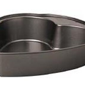 9 x 2 1/4 in. Excelle Elite Heart Cake Pan