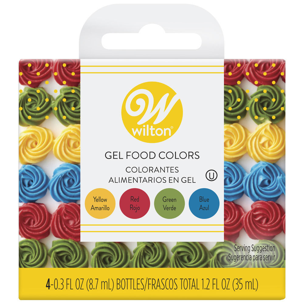 Primary Gel Food Colors Set | Wilton