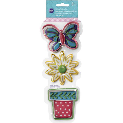 3 Piece Spring Cookie Cutter Set
