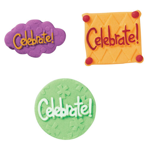 Celebration Royal Icing Decorations