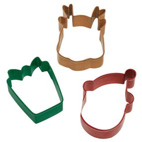 3 Pc. Holiday Cookie Cutter Set