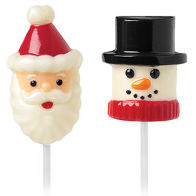 Snow and Santa Marshmallow Pop Mold
