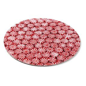 Wilton Christmas Peppermint Candy 12 in. Cake Boards, 3-Ct.
