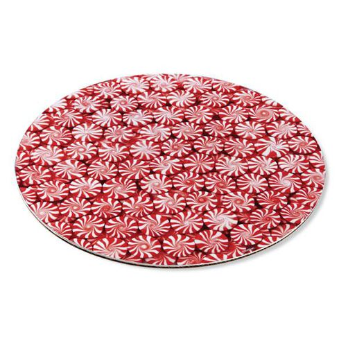 Christmas Peppermint Candy 12 in. Cake Boards