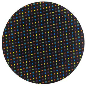 Wilton 12 in. Multicolored Dots on Black Cake Boards 3 Ct. 2104-0399