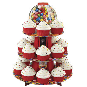 Gumball Cupcake Stand