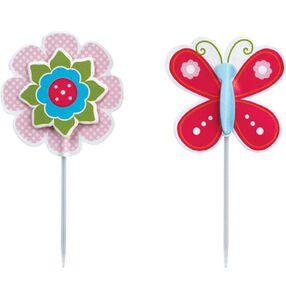 Layered Butterfly & Flower Fun Pix