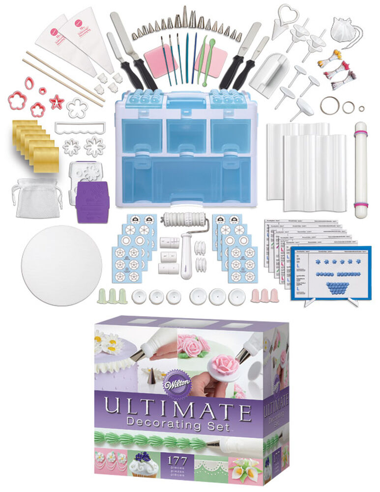 Wilton Ultimate Cake Decorating Set How To Use