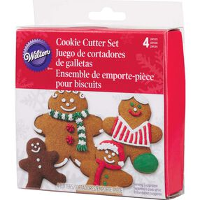 Gingerbread Boys Nesting Metal Cutter Set