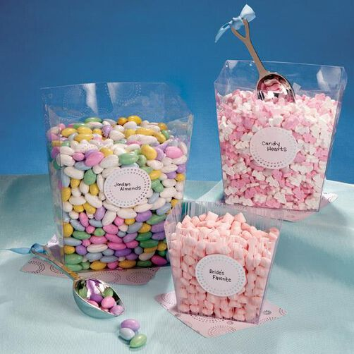 Clear Candy Buffet Container Kit