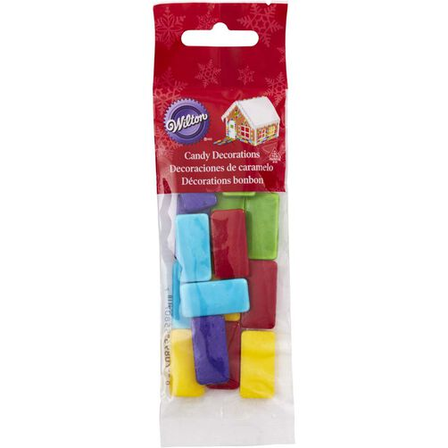 Gingerbread House Shingles Candy Decorations