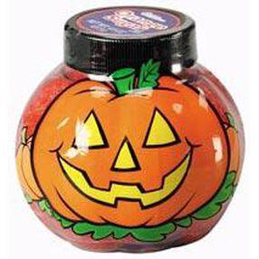 Pumpkin Shaped Sugar Jar with Black Sugars