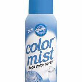 Blue Color Mist Food Color Spray