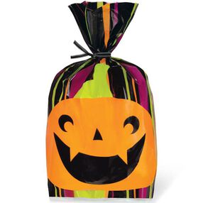 Spooky Pop Pumpkin Party Bag