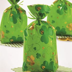 Wilton St. Patrick's Day Treat Bags, 20-Count