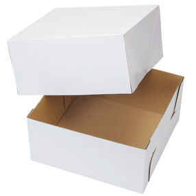 12 x 12 in. Corrugated Cake Box