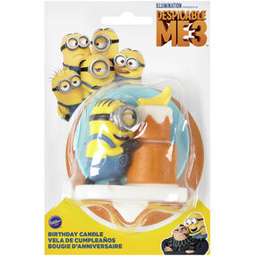 Despicable Me 3 Minion Candle