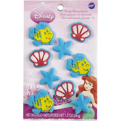 Wilton Disney Princess Ariel Candy Decorations