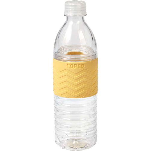 Chevron Buttercream Yellow Hydra Water Bottle