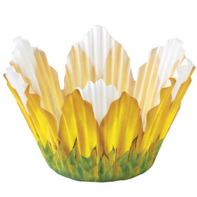 Sunflower Shaped Baking Cups