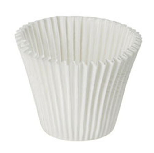King Size White Baking Cups