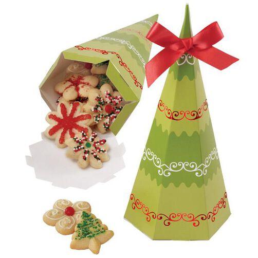 Homemade for the Holidays Tree Treat Box