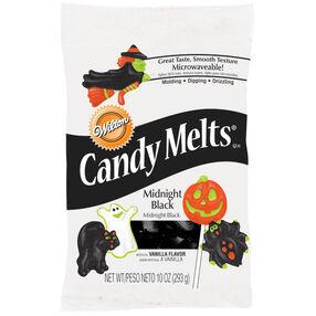 Midnight Black Halloween Candy Melts*