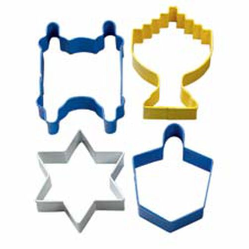 Hanukkah Metal Cutter Set