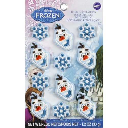 Wilton Disney Frozen Icing Decorations