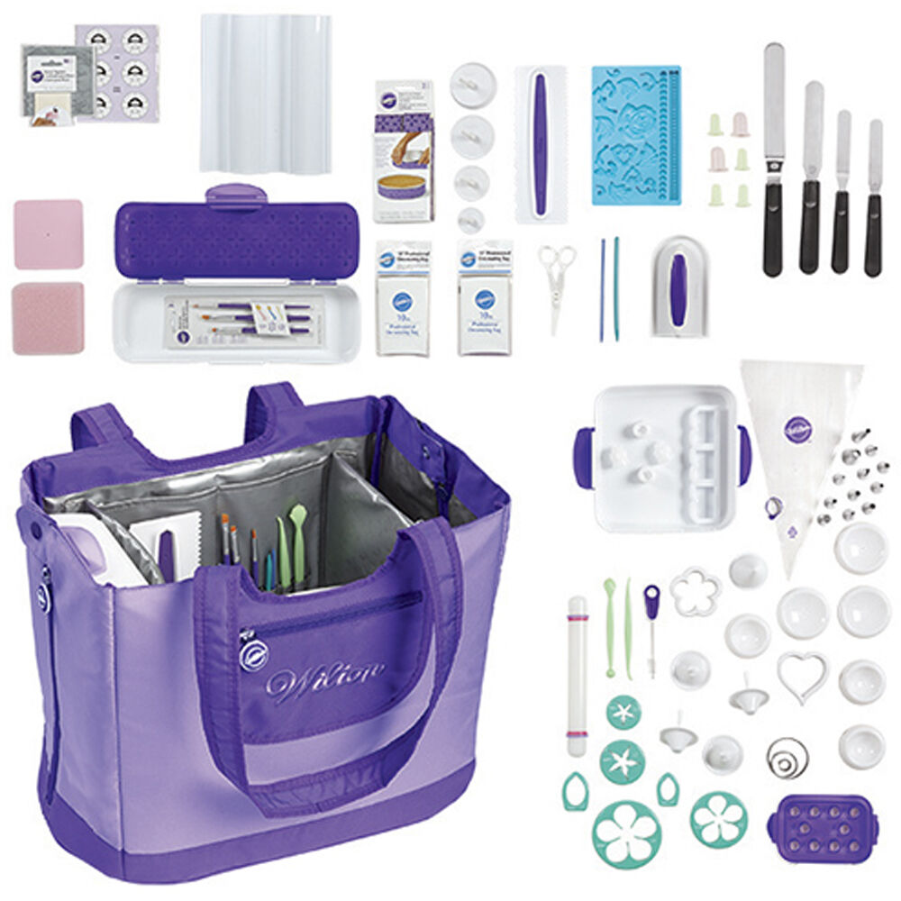 Cake Design Starter Kit : Ultimate Decorating Tote Set - Wilton Cake Decorating Kit ...
