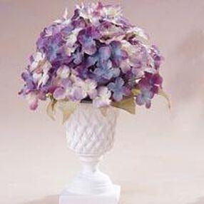 Lavender Hydrangea Topiary Arrangement