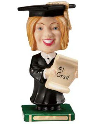 Female Graduation Bobbling Topper