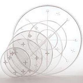 7 in. Crystal-Look Separator Plate