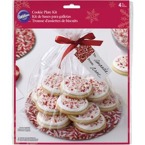 Wilton Candy Cane Cookie Plate Kit