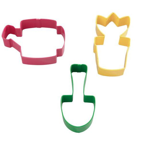 Garden Colored Metal Cutter Set