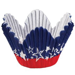 Patriotic Petal Cups