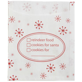 Snowflake Wishes Cookie Bag