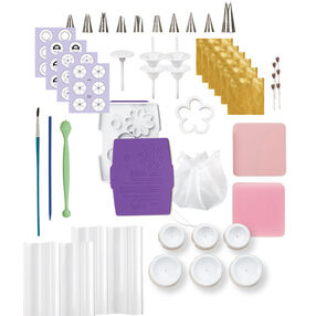 Wilton Method? Flowers & Cake Design Student Kit