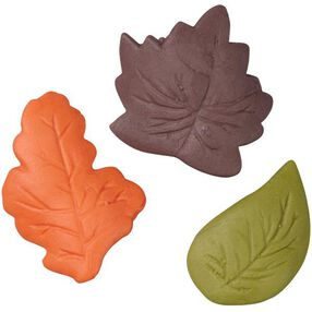 Autumn Leaves Royal Icing Decorations