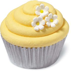 daisy mini icing decorations - Cake Decorations
